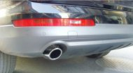 AUDI Q7 3.6TFSI 3.0 CHROME EXHAUST MUFFLER TIP 2PCS
